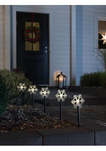 KONSTSMIDE LED Gartenleuchte, LED-Modul, 1 St., Warmweiß, LED Spiessleuchte mit 5... kaufen