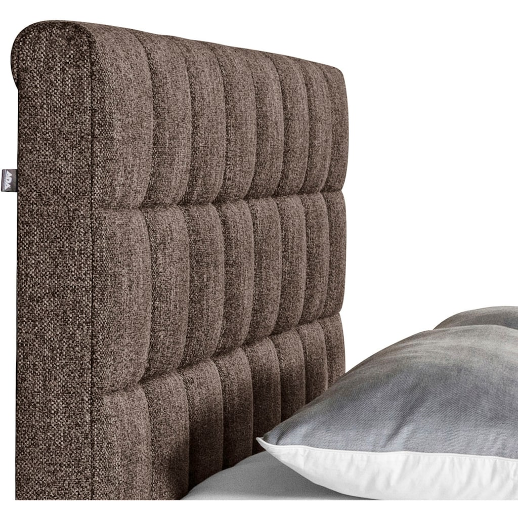 ADA trendline Polsterbett »Kadira«, wahlweise mit Matratze und Lattenrost, in verschiedenen Größen und Härtegraden