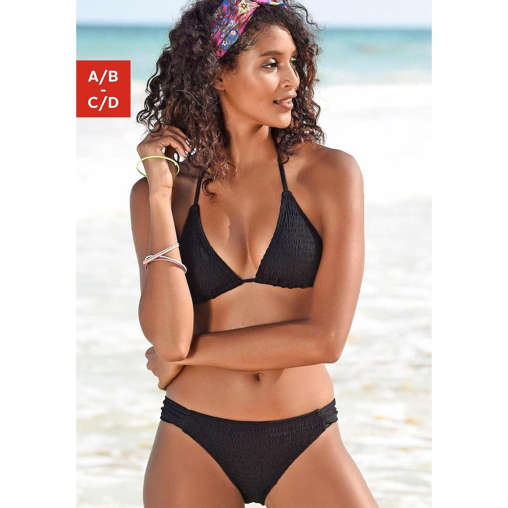 Homeboy Triangel-Bikini-Top »Kuba«, unifarben