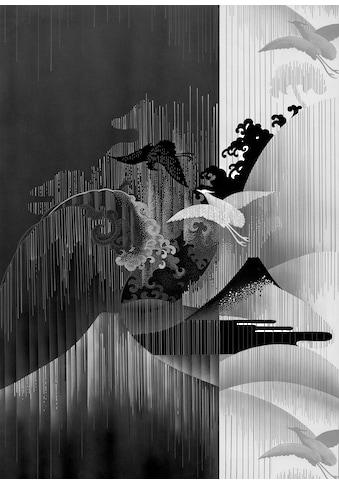 Komar Fototapete »Vliestapete Yin Yang«, bedruckt-geblümt-floral-realistisch, 200 x... kaufen