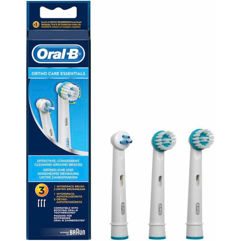 Oral B Aufsteckbürsten »Ortho Care Essentials«