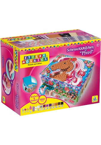 Sticky Mosaics Kreativset »Schmuckkästchen Pferd« kaufen