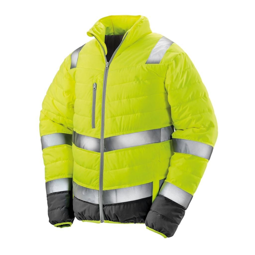 Result Steppjacke »Safeguard Herren in Warnfarben«