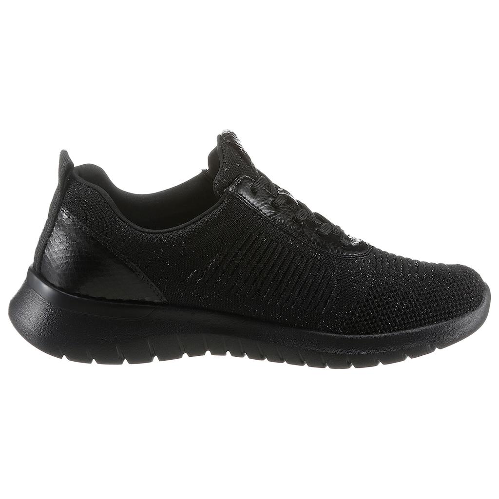 Remonte Sneaker, mit feinem Metallic-Schimmer