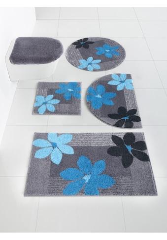 Badgarnitur im Blumen-Design kaufen