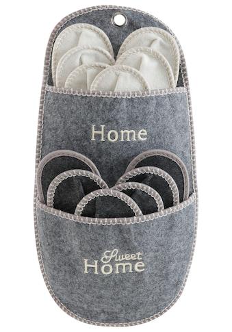 Home affaire Aufbewahrungstasche »Home Sweet Home« (Set, 7 Stück) kaufen