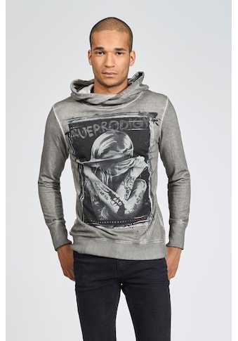 trueprodigy Kapuzensweatshirt »Stop seeing«, mit modischem Frontprint in Vintage-Optik kaufen