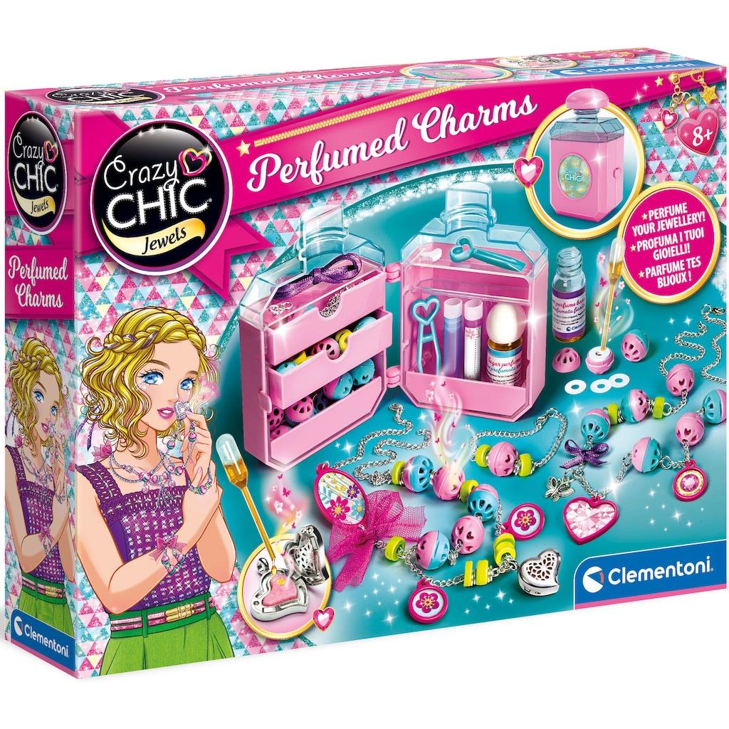 Clementoni® Kreativset »Crazy Chic - Duftender Schmuck«, Made in Europe