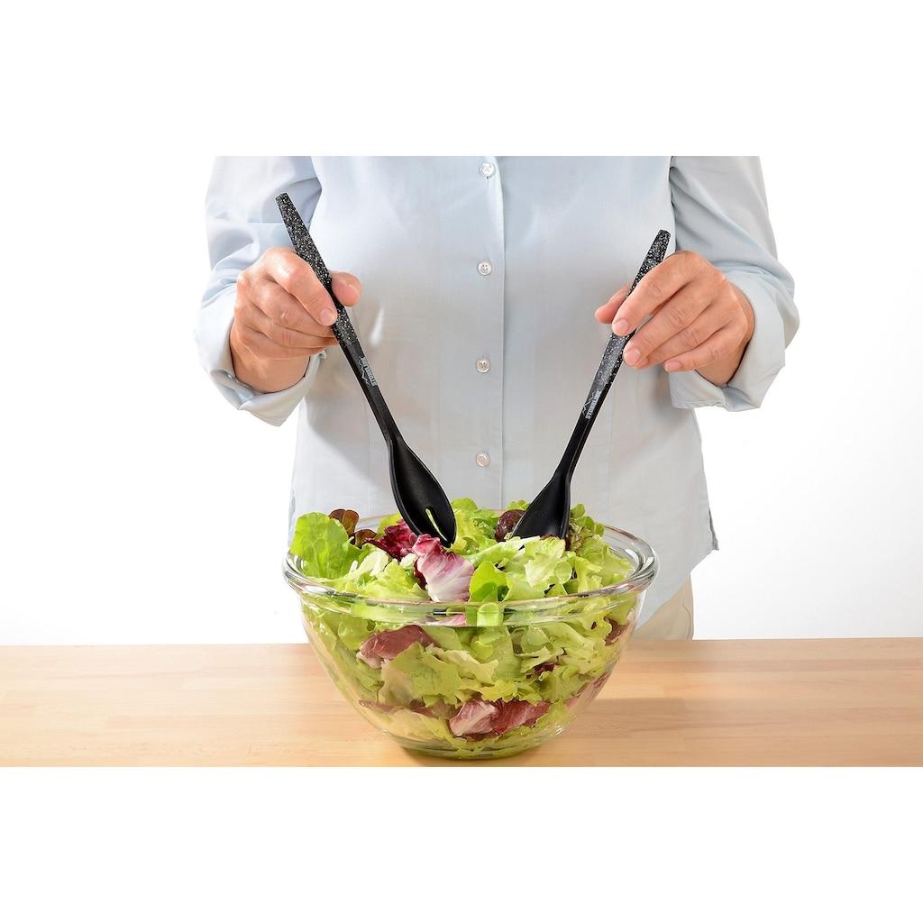 STONELINE Salatbesteck, (2 tlg.)