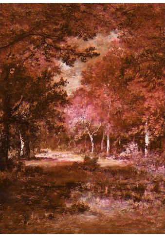 Komar Fototapete »Vliestapete Autumna Rosso«, bedruckt-geblümt-floral-realistisch, 200... kaufen