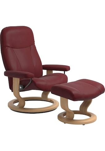 Stressless® Relaxsessel »Garda«, mit Hocker, mit Classic Base, Größe L, Gestell Eiche kaufen