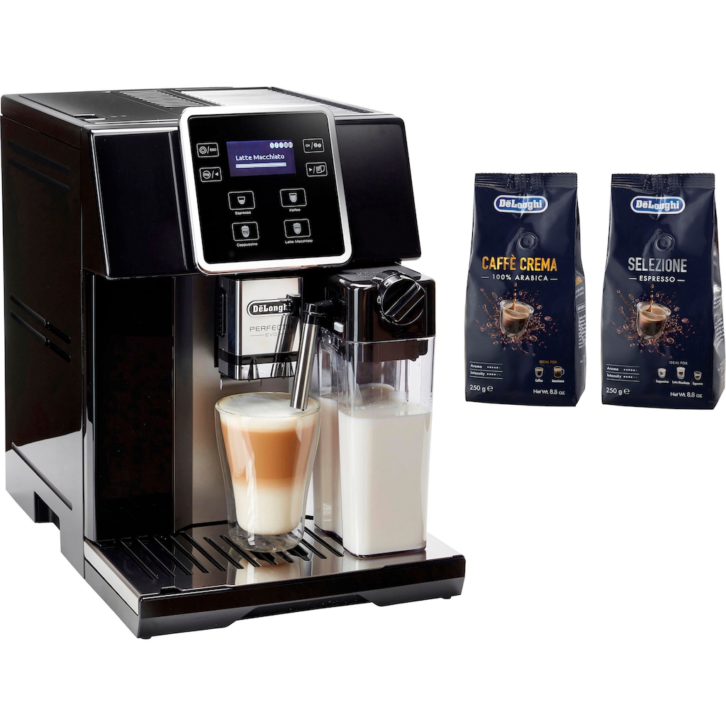 De'Longhi Kaffeevollautomat »ESAM 428.40.B PERFECTA EVO«, mit Kaffeekannenfunktion