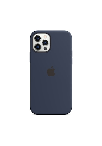 Apple Smartphone-Hülle »Apple iPhone 12 P Max Silicone Case Mag Blu«, MHLD3ZM/A kaufen