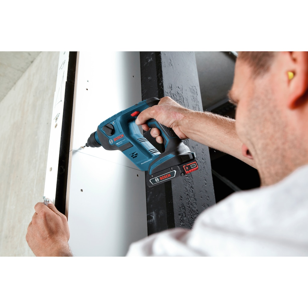Bosch Professional Akku-Bohrhammer »GBH 18 V-LI Compact«
