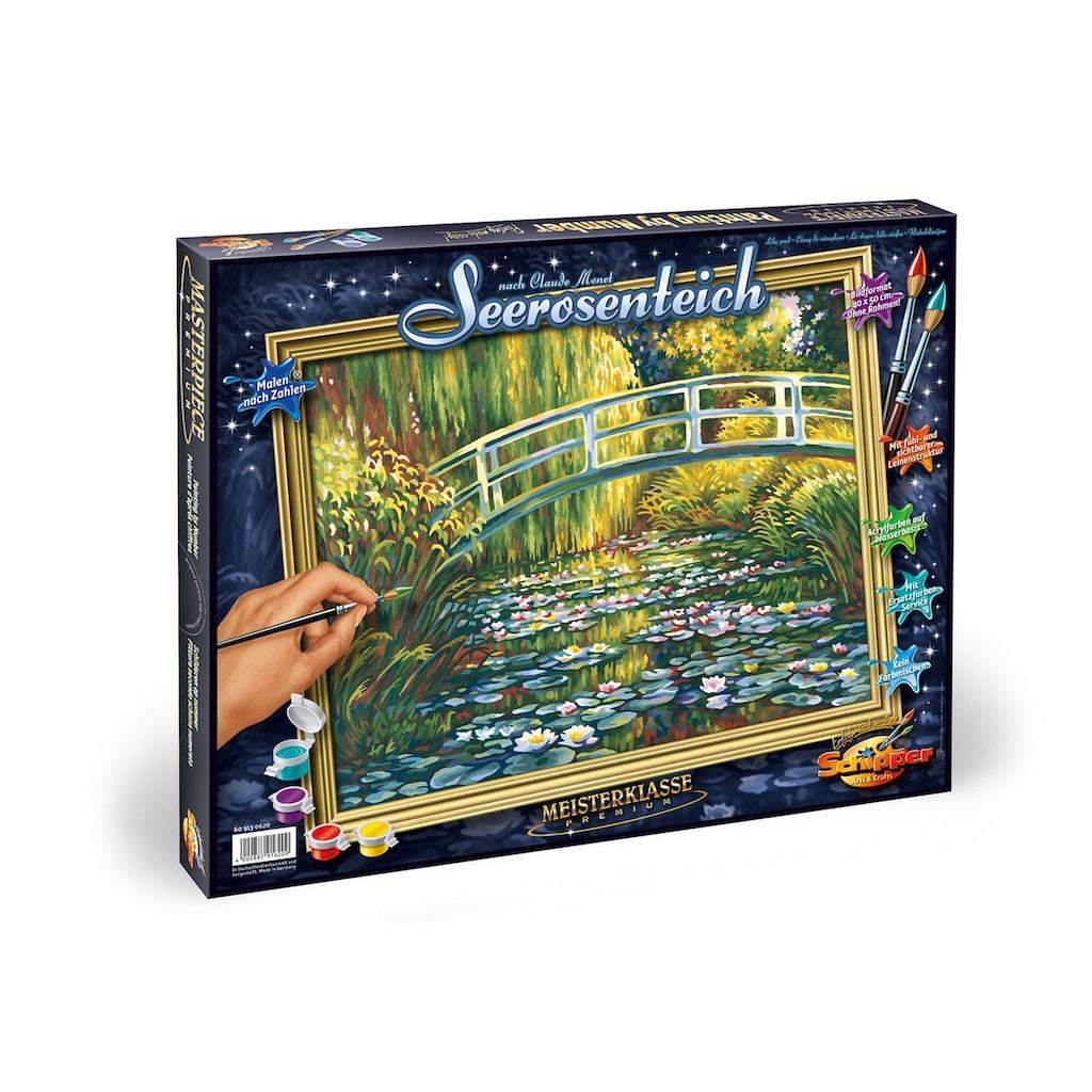 Schipper Malen nach Zahlen »Meisterklasse Premium - Seerosenteich nach Claude Monet (1840-1926)«, Made in Germany