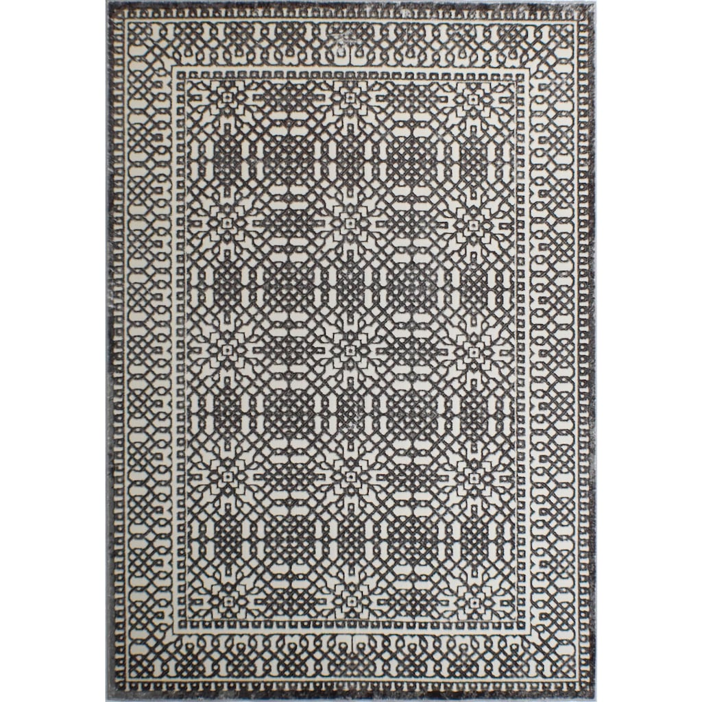 CosmoLiving by Cosmopolitan Teppich »Hazel Sterling«, rechteckig, 7 mm Höhe, Vintage, Wohnzimmer