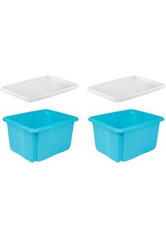 keeeper Aufbewahrungsbox »emil«, (Set, 2 St., 2), aufeinander stapelbar kaufen