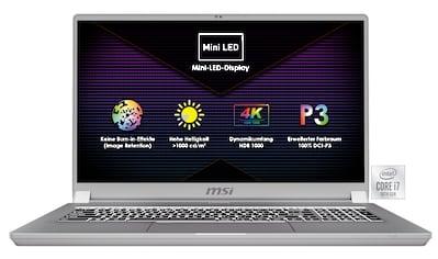 "MSI Creator 17 A10SF - 270 »43,9 cm (17,3"") Intel Core i7, 1 TB, 32 GB« kaufen"