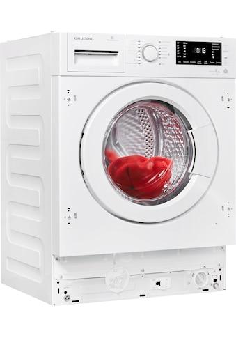 Grundig Einbauwaschtrockner GWDI 854, 8 kg / 5 kg, 1400 U/Min kaufen