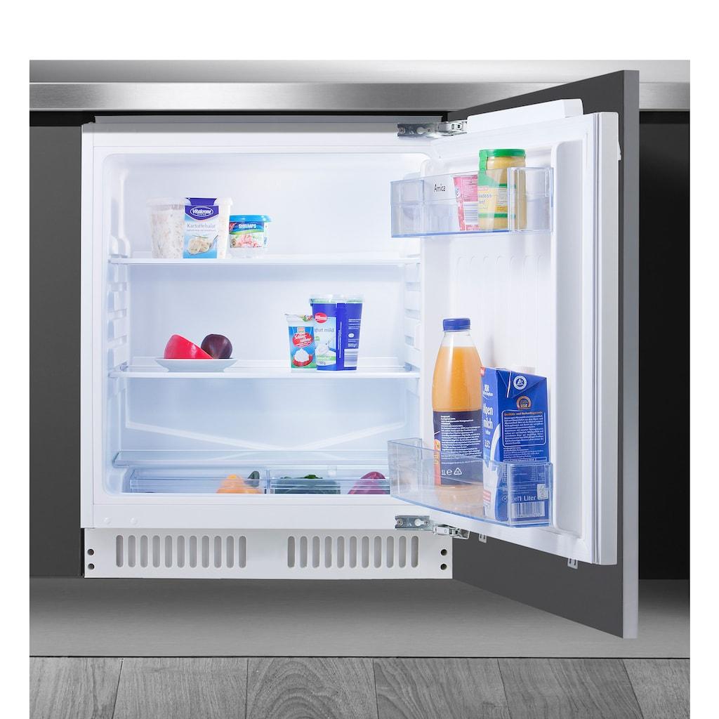 Amica Einbaukühlschrank, Sicherheitsglas