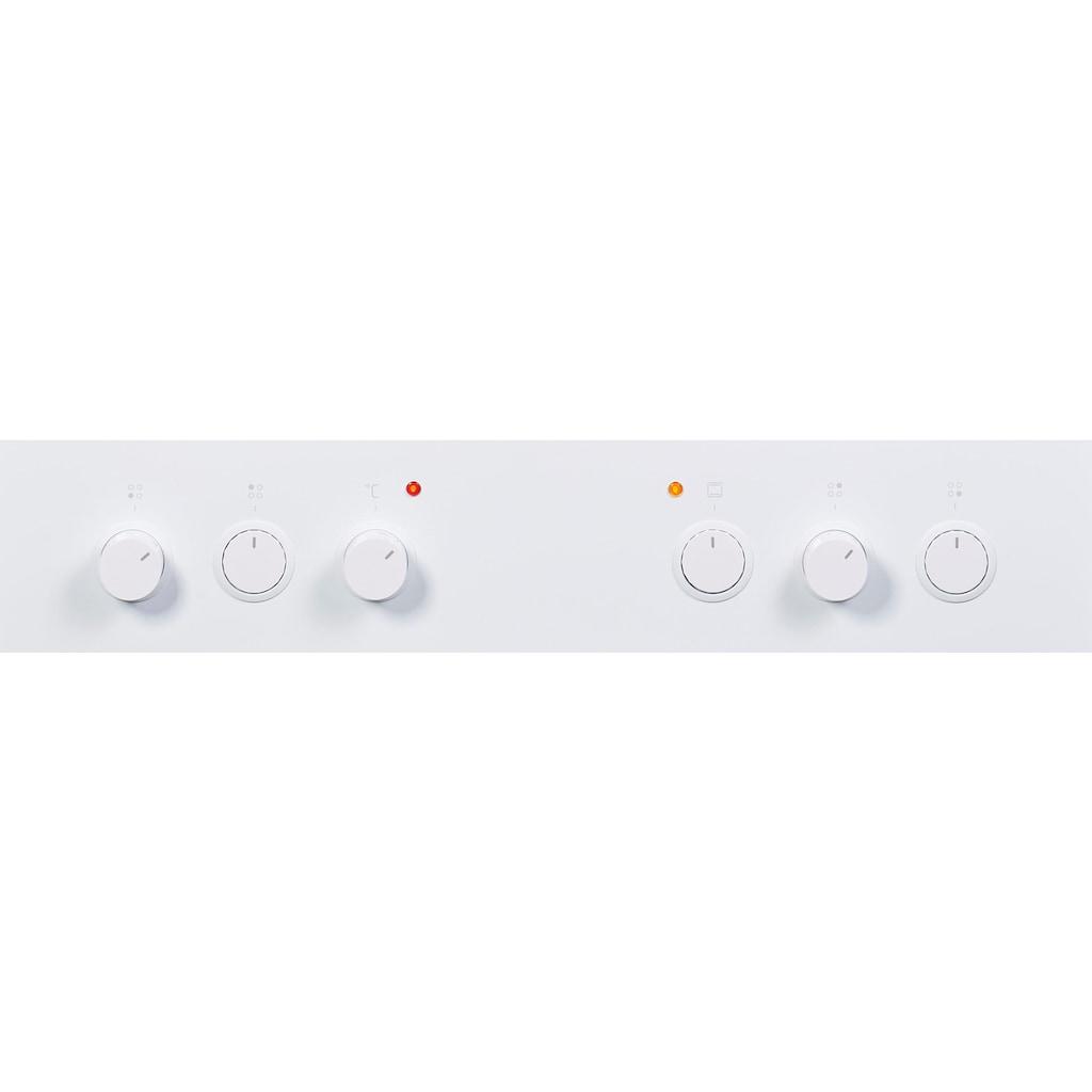 Amica Elektro-Standherd »SHC 914 111 W«, SHC 914 111 W, RapidWarmUp-Funktion