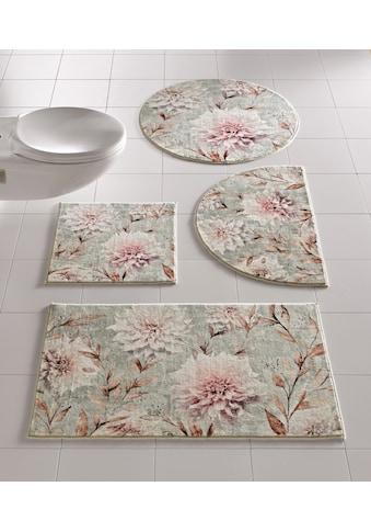 Badgarnitur Blüten mit Blütendesign kaufen