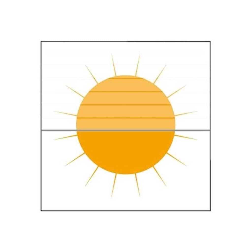 sunlines Dachfensterplissee nach Maß, Lichtschutz, mit Bohren, verspannt