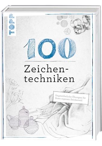 Buch »100 Zeichentechniken / Monika Reiter, Dieter Schlautmann« kaufen