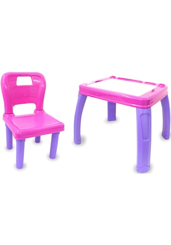 Jamara Kindersitzgruppe »Lets Study, rosa«, (2 tlg.) kaufen