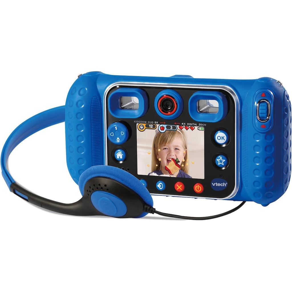 Vtech® Kinderkamera »Kidizoom Duo DX, blau«, inklusive Kopfhörer