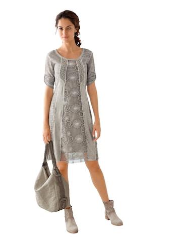 Classic Inspirationen Kleid mit angesagter »oil dyed« - Waschung kaufen