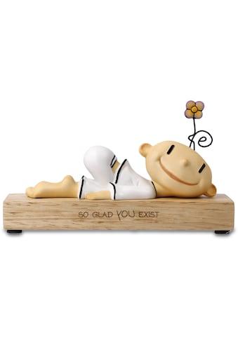 """Goebel Dekofigur »Figur Der kleine Yogi - """"So glad you exist""""« kaufen"""