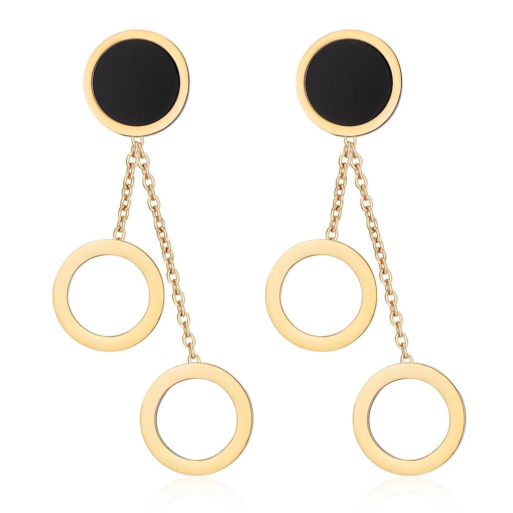 AILORIA Paar Ohrhänger »ANNE Ohrringe«, aus glänzendem Edelstahl