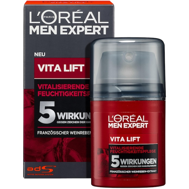 """L'ORÉAL PARIS MEN EXPERT Anti-Aging-Creme """"Vita Lift Gesichtspflege"""""""