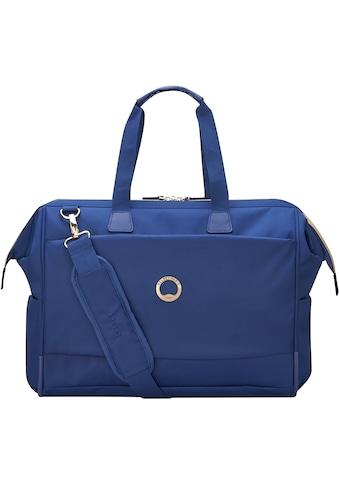 Delsey Reisetasche »Montrouge Reporter, blue«, mit TSA-Schloss kaufen