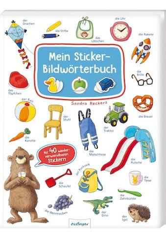 Buch »Mein Sticker-Bildwörterbuch / Sandra Reckers« kaufen