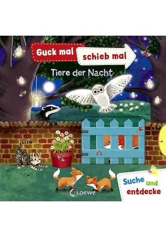 Buch »Guck mal, schieb mal! Suche und entdecke - Tiere der Nacht / Jenny Wren, Anika... kaufen