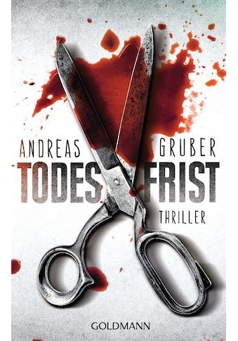 Buch »Todesfrist / Andreas Gruber« kaufen