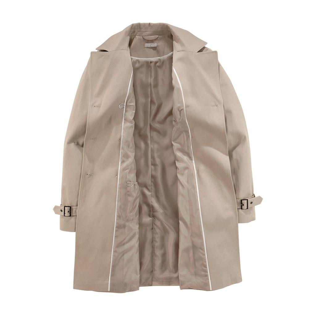 Aniston CASUAL Trenchcoat, mit Gürtel zum Regulieren
