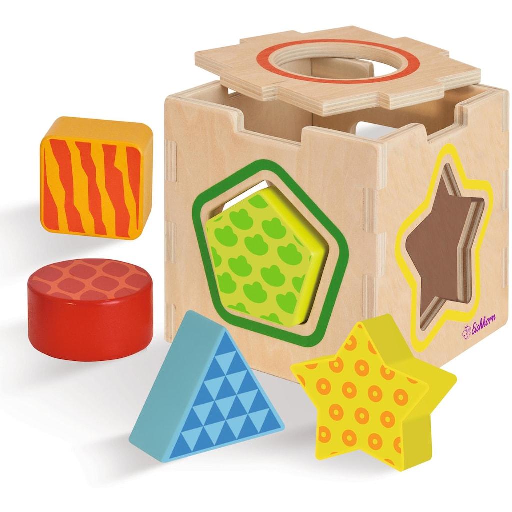 Eichhorn Steckspielzeug »Color Steckbox«, aus Holz
