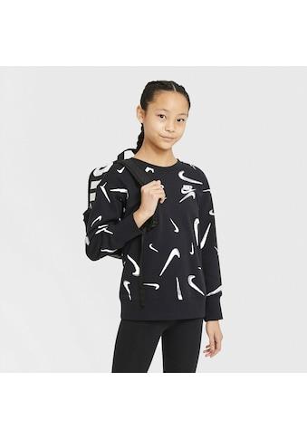 Nike Sportswear Sweatshirt »G Nsw Ft Aop Bf Crew Big Kids' (girls')« kaufen