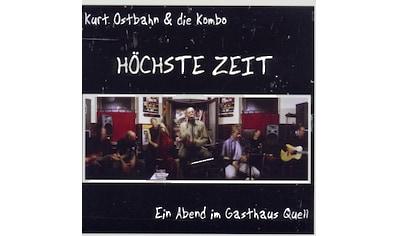 Musik - CD HOECHSTE ZEIT  -  EIN ABEND / Ostbahn,Kurt, (1 CD) kaufen