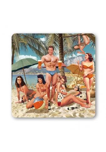 LOGOSHIRT Untersetzer mit Beach Party-Print kaufen