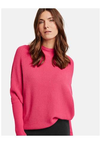GERRY WEBER Pullover Langarm Rundhals »Pullover mit Fledermausarm« kaufen