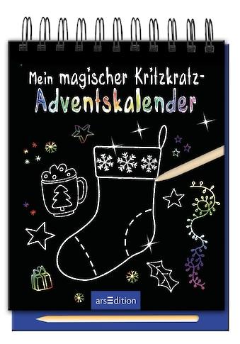 Buch »Mein magischer Kritzkratz-Adventskalender / DIVERSE« kaufen