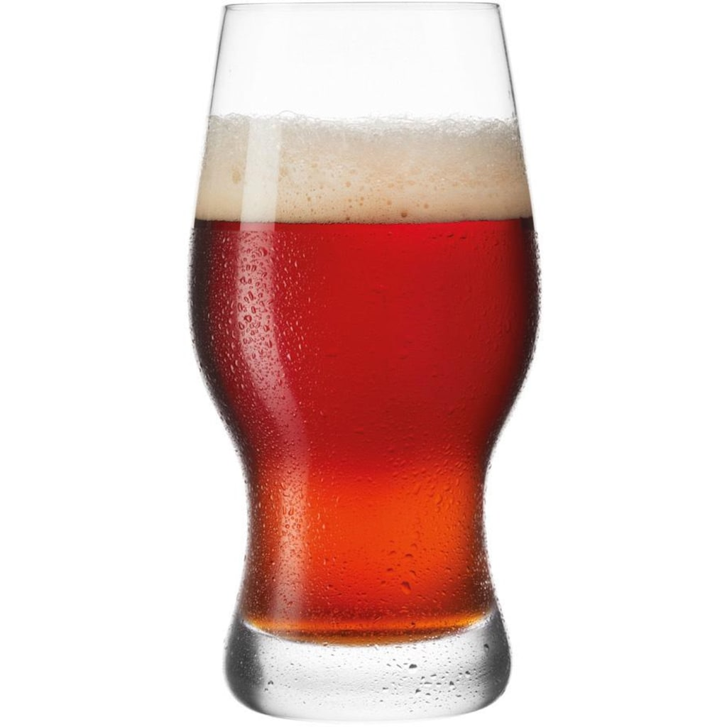 LEONARDO Bierglas »Taverna«, (Set, 8 tlg.), Inhalt 0,5 Liter, Höhe 17 cm, 8-teilig