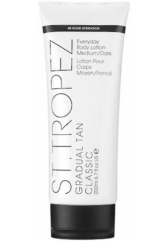 St.Tropez Selbstbräunungslotion »Gradual Tan Classic Body Lotion«, Medium/Dark kaufen