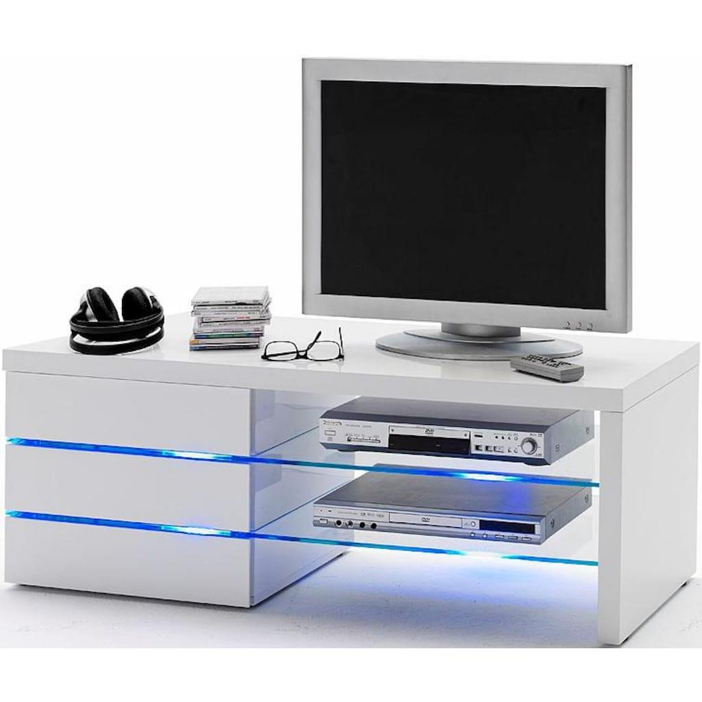 MCA furniture Lowboard »Sonia«, 4er-LED-Beleuchtung Blau