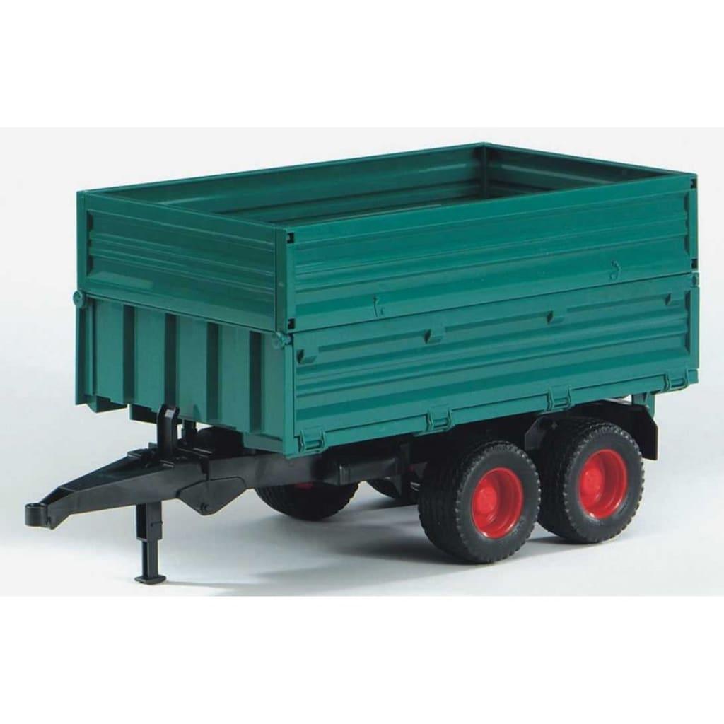 Bruder® Spielfahrzeug-Anhänger »Tandemachs-Transportanhänger mit Aufsteckbordwand«, 02010, Made in Germany