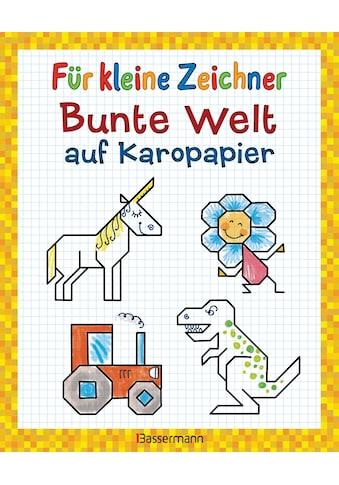 Buch »Für kleine Zeichner - Bunte Welt auf Karopapier / Norbert Pautner« kaufen